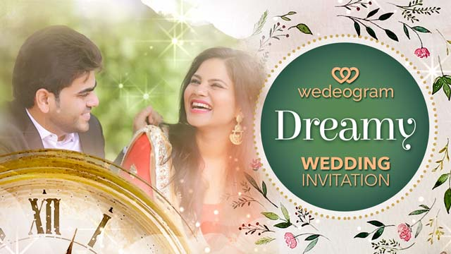 dreamy wedding invitation video