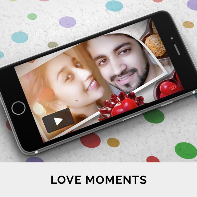 Personalise video greetings online for the one who completes you, loves you unconditionaly