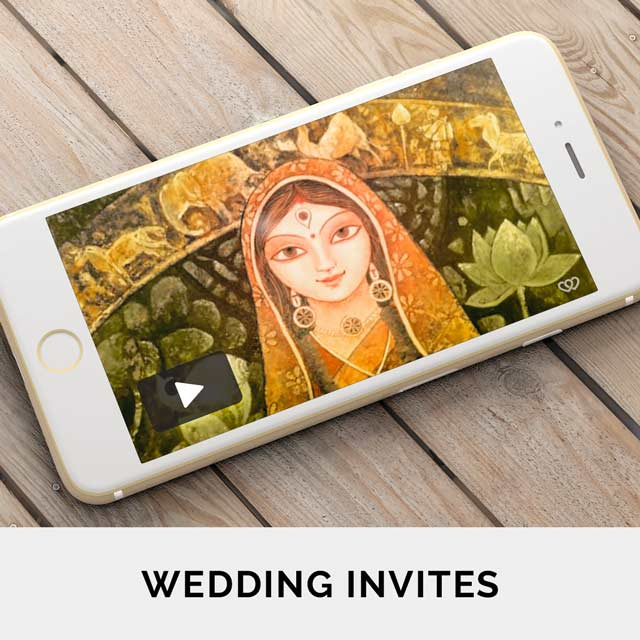 Romantic and Engaging wedding invitation videos to get your guests super excited