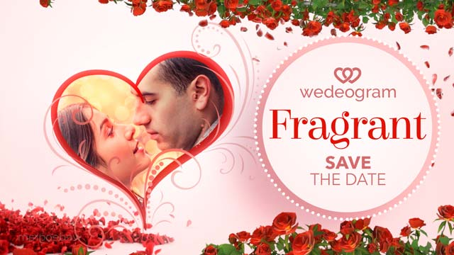fragrant save the date video