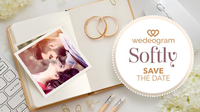 softly wedding invitation video