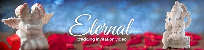 eternal wedding invitation video
