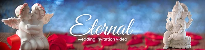 Eternal wedding invitation video details