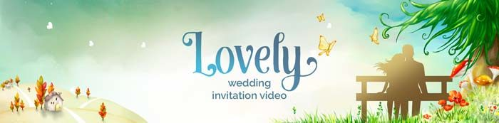 lovely save the date video invitation