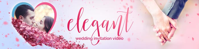 Elegant Wedding Invitation Video Description